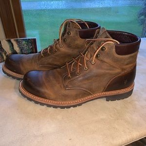 Men's Frye all leather boots
